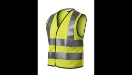 Bezpečnostní prvky pro děti, reflexní dětské vesty a pásky s vysokou viditelností