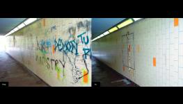 Odstranění graffitů a sprejerských nápisů – systém antigraffiti se zárukou 7 let