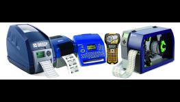 Multifunkční výkonné průmyslové tiskárny BRADY - nejen pro značení etiket, štítků a čárových kódů