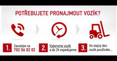 Pronájem manipulační techniky Toyota a BT I Rudná u Prahy