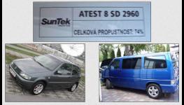 Tónování autoskel a tuning od profesionálů Praha 9 - tónování pomocí fólií značky SunTek
