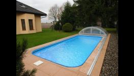 Plastový bazén do 14 dnů - kompletní dodávka bazénového setu včetně montáže