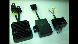 Digitální řídící jednotky, zapalování bateriové, kondenzátorové-pro motocykly, skútry