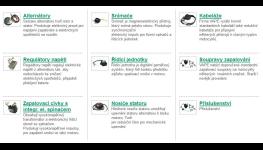 Eshop komponenty zapalovací, zdrojové soupravy-pro motocykly, skútry, čluny