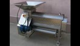 Zpracování hroznů - vinařské technologie, mlýnkoodzrňovač Vojkovice