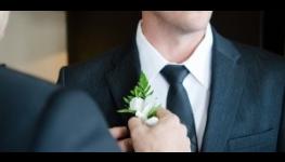Pánské fit slim obleky pro ženicha, na svatbu i jinou společenskou událost - půjčovna