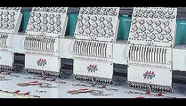 Strojové vyšívání, barevné výšivky na všechny textilní materiály