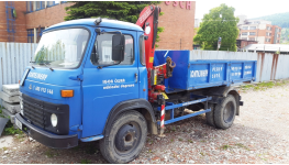Kontejnerová doprava – odvoz suti a zeminy