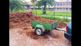 Zahradní dekorační kámen - ozdobný posyp k chodníkům, jezírkům zabraňuje prorůstání trávy