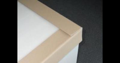 Prodej, výroba ochranné lisované papírové rohy a hrany - levná ochrana balení