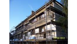 Zhotovení železobetonových monolitických stropů a další zednické, stavební a bourací práce