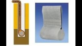 Drenážní systém Pacdrain - systém s filtrační geotextilií