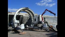 Izolační práce při stavbě tunelů, skládek, bioplynových stanic, montáž potrubí