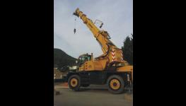 Jeřábnické práce s autojeřáby provádí profesionální a vyškolený tým firmy REKOS
