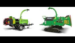 Samochodné štěpkovače, štěpkovací stroje s vlastním pohonem - prodej