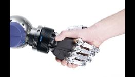 Koncipovaná aplikace pro servisní robotiky - mechatronická 5prstá uchopovací ruka
