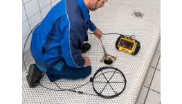 Kamera pro inspekci trubek, kanálů a komínů - REMS CamSys 2 – včetně audio a video záznamu
