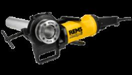Elektrické nástroje pro řezání závitů REMS, výroba obvodových drážek