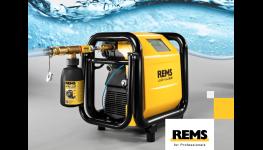 Kontaminaci pitné vody zabrání preventivní opatření s využitím přístroje REMS Multi Push