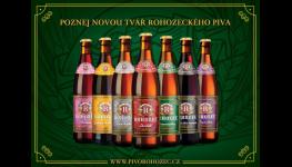 Tradiční pivo Rohozec dostalo zbrusu nový kabát