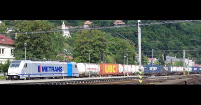 Kontejnerová vlaková doprava | Evropa
