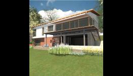 Návrhy a projektování rodinných domů, urbanisticko-architektonická praxe
