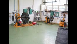 Rovnání podvozkových rámů, servis a oprava havarovaných nákladních automobilů