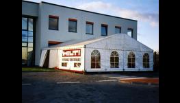 Mobilní stanové haly pro Vaše podnikání Praha - ke skladování materiálu a zboží