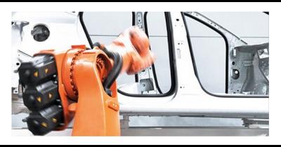 Robotické svařování na klíč - Praha - typizované robotické svařovací pracoviště z jedné ruky