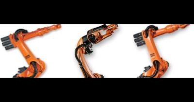 Aplikace průmyslových robotů Kuka – sváření, lepení, řezání, frézování, broušení paletizace