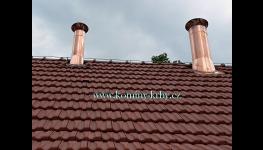 Komíny a kouřovody – dodání a montáž, vymazání komínů, kontroly a čištění