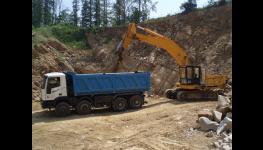 Ukládka, uložení inertní výkopové zeminy i jiných inertních odpadů