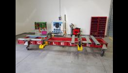 Opravy karoserií - rovnací stolice značky Celette, kompletní autokarosářské a autoklempířské práce