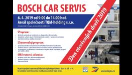 Den otevřených dveří v servisu osobních automobilů Bosch Car servis v Opavě