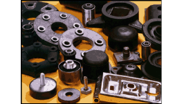 Gumokovové díly, dorazy, pouzdra různých tvarů a rozměrů - výroba na zakázku