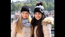 Originální pletené výrobky-čepice, rukavice, šály výroba, prodej
