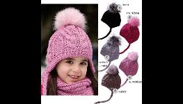 Pletené čepice, klobouky, kulichy v různých barvách a vzorech i na zakázku
