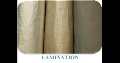 Laminování rohoží z netkané textilie KOBEMAT® a KOBEFIBER jednostranné i oboustranné