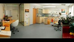 Moderní zubní klinika, ordinace, ošetření zubů bez bolesti