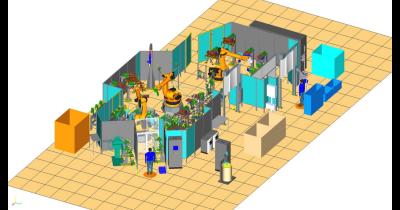 Simulační program 3D projektu Praha - funkční podklady pro výrobní procesy