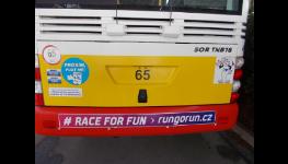 Reklama v autobusech Hradec, polep autobusů, reklama v MHD Hradec