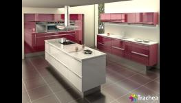 Skládaná kuchyňská dvířka T. segment – kombinace barev a vzorů bez omezení