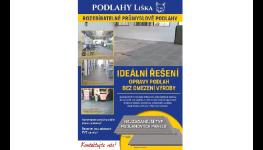 Podlahy pro sklady, skladové provozy a všechny nepřetržité provozy s vysokou zátěží