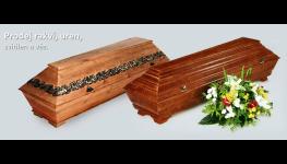 Prodej rakví, levné i zdobené rakve z pohřebnictví Pospa-jsme tu pro Vás 24 hodin denně