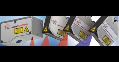 2D laserové kamery, pro přesné měření profilů – scanCONTROL skener