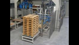 Přeprava zboží - paletizace a manipulační technika, paletizační manipulátory Hustopeče