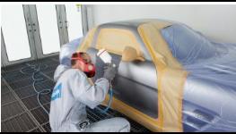 Lakování karosérií osobních a dodávkových automobilů, opravy laku - autolakovna