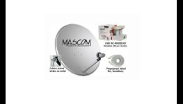 Montáž satelitní digitální televize společnosti SKYLINK