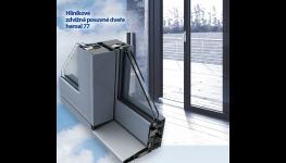 Bezbariérové zdvižně posuvné dveře - HS portál, pro propojení interiéru s exteriérem