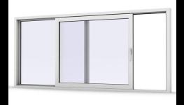 Plastové zdvižně posuvné dveře - velké prosklené dveře s lehkým ovládáním, které dodají více denního světla